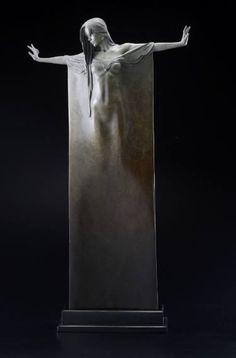 "Saatchi Art Artist Michael Talbot; Sculpture, ""Ophelia"" #art"
