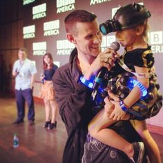 I thought I couldn't love Matt Smith more... at SDCC 2013