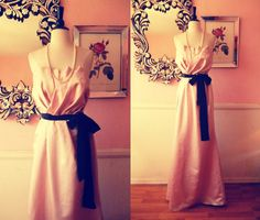 Vera Wang WHITE Dusty Rose Bridesmaid Dress by TheEnchantedBride, $75.00