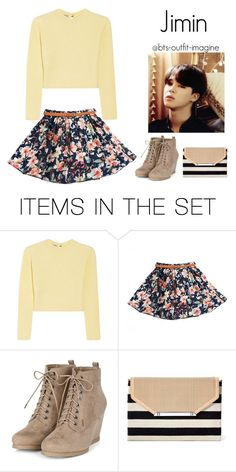 """""""Meeting his parents (Jimin)"""" by effie-james ❤ liked on Polyvore featuring art, simple, kpop, korean, bts and jimin"""