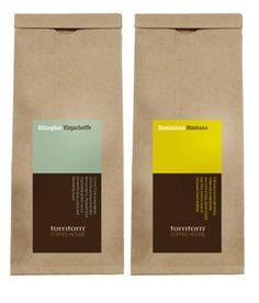 Tomtom Coffee labels  | Designer: Studio H