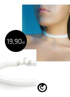 Kup mój przedmiot na #vintedpl http://www.vinted.pl/akcesoria/bizuteria/15710276-choker-z-elastycznego-paseczka-milimoon-bialy-paski-naszyjnik