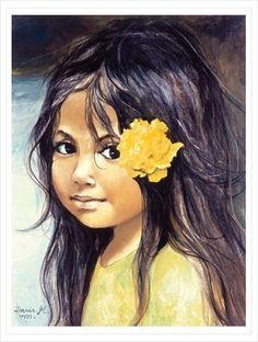 Danuta Muszyńska – polska artystka malarka, witrażystka i gobeliniarka Polish Folk Art, Drawing Sketches, Drawings, Decoupage, Pastel Drawing, Black Art, Retro, Watercolor Paintings, Art Paintings