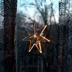 Karla LED Adventsstjerne Akryl 25 cm-42525