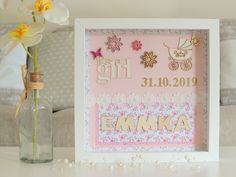 Obrázok pre Emmku Scrapbooking, Frame, Cards, Design, Home Decor, Picture Frame, Decoration Home, Room Decor, Scrapbooks
