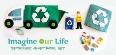 Recycling Quiet Bok Set & Free Printables