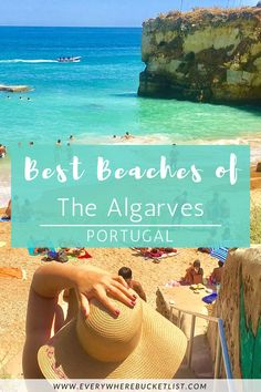 Find out where the BEST Beaches of the Algarves in Portugal are! Visit Portugal, Portugal Travel, Spain And Portugal, Spain Travel, Backpacking Europe, Europe Travel Guide, Europe Destinations, Travel Guides, Algarve