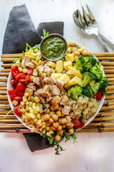 Copycat Sweetgreen Earth Bowls - Layers of Happiness