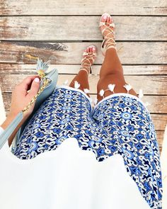 ivanka-trump-lace-up-heels-tassel-trim-shorts-cancun-style