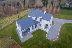 mckenna + associates - Contemporary House Design - Registered Architects & Chartered Building Surveyors House Designs Ireland, Cottage Extension, L Shaped House, Architecture 101, Farmhouse Renovation, Cottage Plan, Architect House, House Layouts, Houses