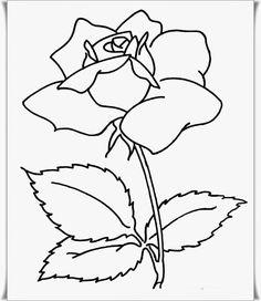 Çiçek Boyama Resimleri 5