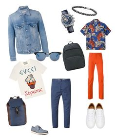 """""""Weekend"""" by explorer-14907853044 on Polyvore featuring GBX, Gucci, PS Paul Smith, Marc Jacobs, David Yurman, Zenith, Closed, Paul Smith, Yves Saint Laurent и men's fashion"""