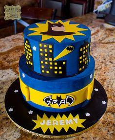 Batman Cake by Sweet Pea 0613 via Flickr
