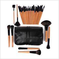 32 Piece Professional Makeup Brush Kit - Health & Beauty - Tac City Goods Co - 5 Link in the bio