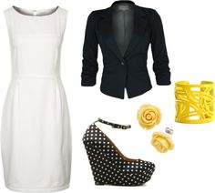 """""""Untitled #52"""" by steph-liz on Polyvore i don't like the shoes or the jewelry"""