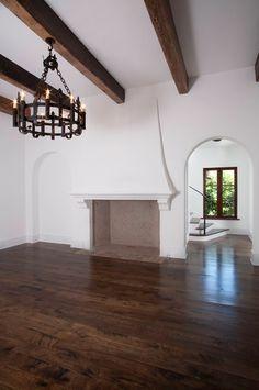 Fireplace inspiration by architect Thomas Thaddeus Truett