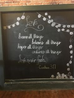 We have some seriously talented artists ready to take your favorite quote and turn it into a lovely chalkboard piece!