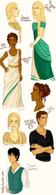 Throne of Glass Fan Art. Smile once in a while, Chaol