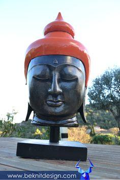 LES BEAUX JOURS SONT ENCORE LA ! #BOUDDHA #RESINE #DESIGN #SUN BOUDDHA RÉSINE 1M SEULEMENT -249,50€- sur www.beknitdesign.com http://urlz.fr/4alH