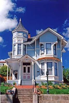 Perhaps the most recognized home of the style. This Victorian on Keller Street is featured in many of Petaluma and Sonoma County's visitor's guides and publications.
