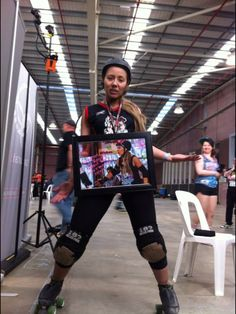 Roller derby MVP geelong bloody Mary's carmen attcha ...my poor sad face