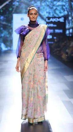 Actress Regina Cassandra walked for Sailesh Singhania At Lakme Fashion Week Summer Resort 2017