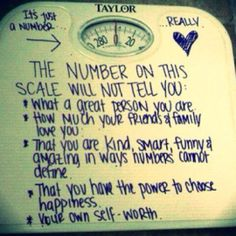 The Number on This Scale Will Not Tell You...