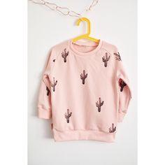 kid's sweater PEACH. cactus
