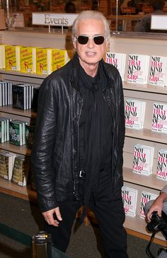 """ Jimmy Page promotes his new book ""Jimmy Page by Jimmy Page"" at Barnes and Noble. L.A., November 11, 2014. """