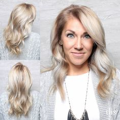 A bright blonde and perfect #hairpainting by @rachelpesh. Masterpiece Rachel!