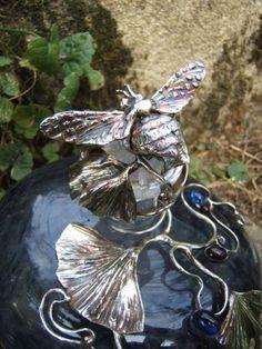 flacons cristal Art Nouveau