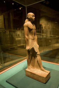 Statue of Prince Horemakhet (701-690 BC) - Son of King Shabaka and High Priest…