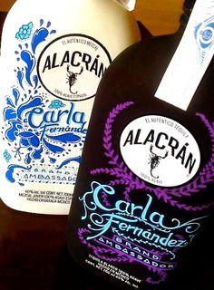 Botellas realizadas por Asuka Design