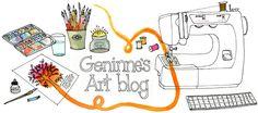 Geninne's Art Blog, me encanta el trabajo de esta mujer, estoy prendada de ella!!!