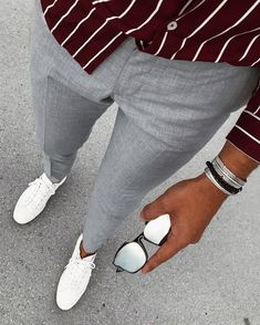 Mens Fashion Smart – The World of Mens Fashion Mode Outfits, Casual Outfits, Casual Clothes, Man Street Style, Stylish Men, Men Casual, Casual Styles, Urban Look, Mode Instagram