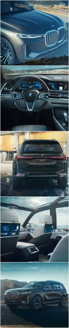 BMW X7 Takes the luxury of the 7 series to full size fun.
