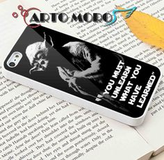#iphone #case #cover #protector #iphone_case #plastic #design #custom #funny #cute #Star_Wars #Yoda #Quotes
