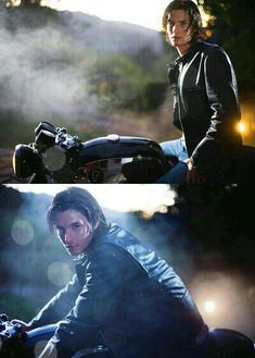 Ben Barnes on a motorcycle- he is just a wonderful young Sirius Black. Phoebe Tonkin, Liv Tyler, Dorian Grey, Ben Barnes Sirius, Hogwarts, Young Sirius Black, Dream Cast, Wolfstar, Chronicles Of Narnia