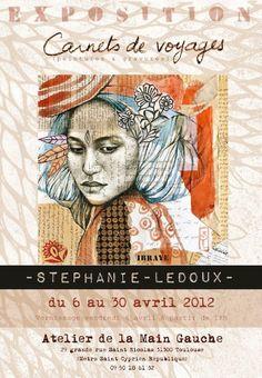 Stéphanie Ledoux - Carnets de voyage: Toulousains, RDV vendredi soir !