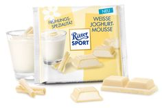 Weisse Joghurt-Mousse