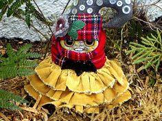 Art Doll Flossie  Fern Gnome by MysticHillsNgaroma on Etsy
