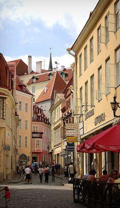 Tallinn Gasse'a old town, Estonia