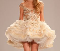 Dilek Hanif Spring 2012 Couture. This would be the most beautiful ballet costume ever.