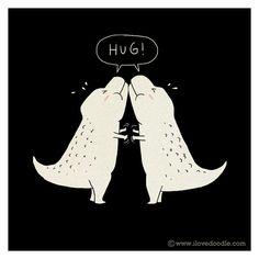#ilovedoodle #hug