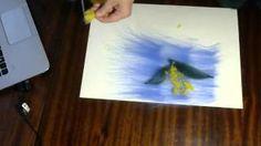 картины из шерсти мастер-класс Видео! - www.fassen.net-Видео сёрфинг