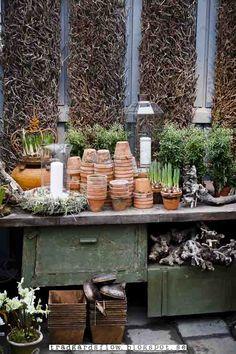 a lovely potting place...