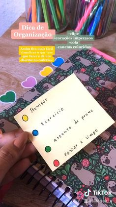 Diy Crafts For Gifts, Creative Crafts, School Study Tips, Study Inspiration, Study Notes, School Organization, Bujo, Ideas Para, Creations