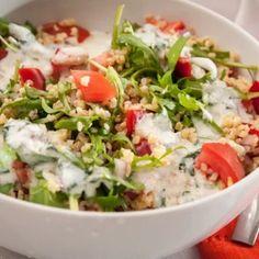 11 frissítő bulgursaláta, ami teljesen eltelít majd   Nosalty Thing 1, Kefir, Tofu, Cobb Salad, Feta, Potato Salad, Grains, Food And Drink, Rice