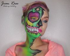 Zombie makeup with Meagan Blake