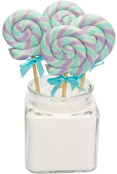 Mini Swirl Lollipops